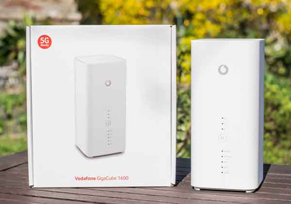 Vodafone GigaCube Cat19 (Huawei B818)LTE Router Test – 5G News | 5G