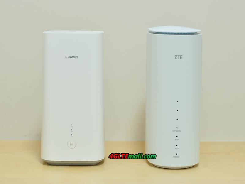 Huawei 5G CPE Pro VS ZTE MC801